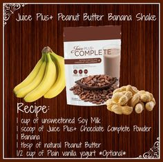 Do you love Peanut Butter? Are you looking for something sweet and nutritious? Try a Juice Plus Banana Nut Shake, it is Simple and Sweet! #JPCANADA
