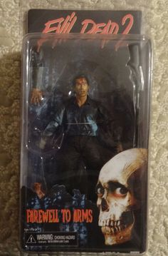 NECA Evil Dead 2 Series 1 Farewell To Arms Ash Bruce Campbell Action Figure #NECA