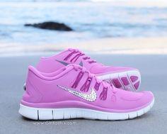 diamond nike shoes