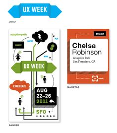 A Peek Behind the Curtain: The Process Behind UX Week 2011′s Visual Design | Adaptive Path