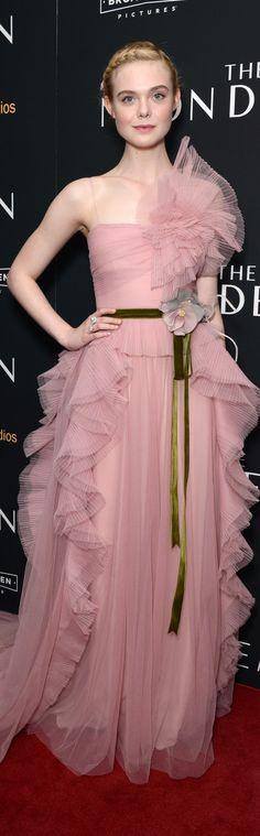 Ellen Fanning veste Gucci - Neon Demon NY Premiere