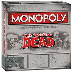 The Walking Dead edition of the Monopoly board game by Hasbro has been unleashed. This time you'll want to get sent to jail for safety. It is available to purchase online from ThinkGeek. Despite it...