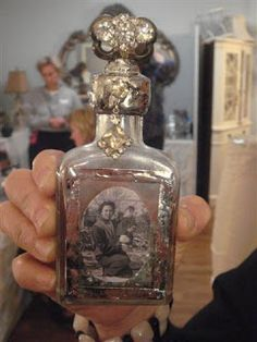 Red Shed Antiques, Grapevine Texas: Soldered Bottle Art Class at the Red Shed in Grapevine, Texas
