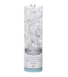 "David Tutera 1"" Faceted Diamond Charms-160PK                                                                                                                                                                                 More"