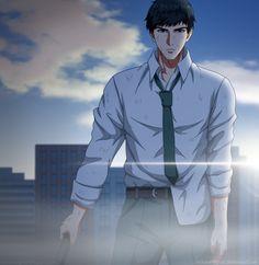 Kaneki, Anime People, Anime Guys, Manga Anime, Kawaii Chibi, Kawaii Anime, Dark Fantasy, Amon Koutarou, Amon Tokyo Ghoul