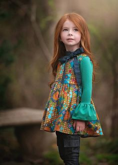 One Good Thread - Persnickety Clothing | Gwen Top  This is the cutest collection of little girls clothing, and this top is amongst my favorite, ever!