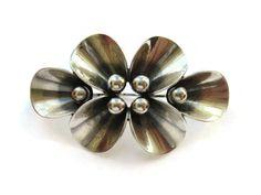 NE From sprig brooch sterling silver, Danish modernist design, Scandinavian silver, calla lily floral spray brooch, Niels Erik 60s pin. https://www.etsy.com/uk/listing/479449161/ne-from-sprig-brooch-sterling-silver