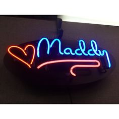 Custom neon signs and wall art are beautiful additions to any home or business! _ www.JantecNeon.com