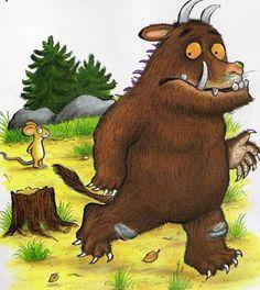 The Gruffalo - possibly my favourite EVER children's book Gruffalo Party, The Gruffalo, Monster Illustration, Children's Book Illustration, Book Illustrations, Childrens Party, Childrens Books, Fantasy Books, Fantasy Art