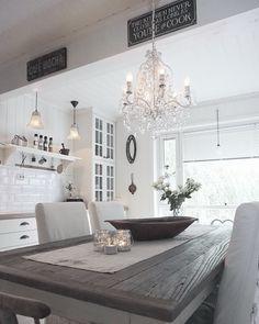 My kitchen ✨ By @villatverrteigen