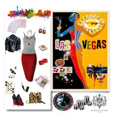 """Las Vegas... Outfits for Travel group"" by deborah-518 ❤ liked on Polyvore featuring Christopher Kane, Christian Louboutin, Leka, Mulberry, Mattioli, Ben-Amun, David Yurman, Versace, Effy Jewelry and Chanel"