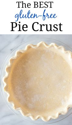 Gluten Free Pastry, Gluten Free Pie Crust, Pie Crust Recipes, Gluten Free Sweets, Gluten Free Cakes, Gluten Free Cooking, Vegan Gluten Free, Gluten Free Recipes, Pie Crusts