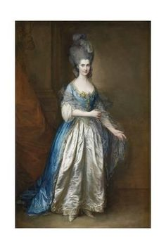 William Villebois, full-length, in masquerade dress, with a blue gown and a lace-edged satin skirt, holding a diaphanous wrap by Sir Thomas Gainsborough (auctioned by Christie's) Previous Next List Thomas Gainsborough, Portraits, Portrait Art, Francisco Goya, Jean Antoine Watteau, Masquerade Dresses, Masquerade Ball, Rococo Fashion, Victorian Fashion