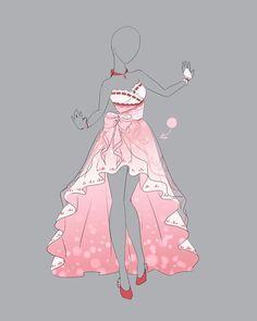 Drawing Anime Dress Art 62 New Ideas Anime Kimono, Anime Dress, Drawing Anime Clothes, Dress Drawing, Drawing Poses, Drawing Tips, Fashion Design Drawings, Fashion Sketches, Drawing Fashion