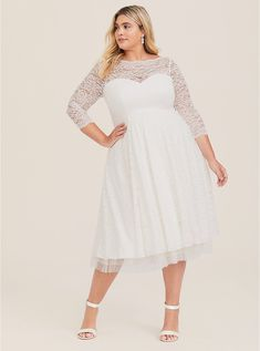 Torrid Plus Size Sexy Sweetheart Hidden Back Zipper Illusion Fitted Vintage Keyhole Cocktail Tea Length Fall Winter Skater Dress/Homecoming Dress/Prom Dress/Party Dress/Wedding Dress Navy Lace Midi Dress, Black Lace Midi Dress, Wedding Dress Capelet, Tea Length Wedding Dress, Gown Wedding, Lace Wedding, Courthouse Wedding Dress, Plus Size Wedding Gowns, Homecoming Dresses