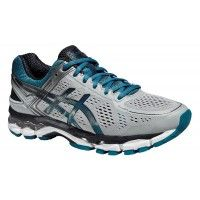 Παπούτσια Asics Gel Kayano 22 silver gray/ocean depth/sky captain Ανδρικό