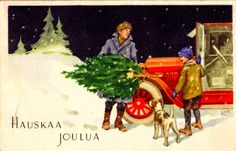 PAUL JERIMA Christmas Holidays, Christmas Cards, Winter, Google, Painting, Vintage, Art, Picasa, Christmas Vacation