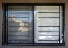 Security Windows, window bars -