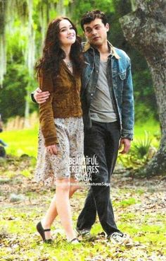 Lena and Ethan from the Beautiful Creatures movie. Movie SUCKS but I LOVE the BOOKS!!!!!