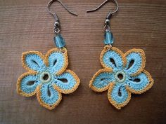 Crochet earrings, need to learn how