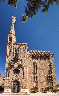 Torre Bellesguard/ Casa Figueres. Antoni Gaudí .1900 -1909. Barcelona, Spain.