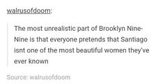 Brooklyn Nine Nine Funny, Jake Peralta, Writing Fantasy, Brooklyn Baby, Best Love Stories, Parks N Rec, Tv Show Quotes, Funny Tumblr Posts, Badass Quotes