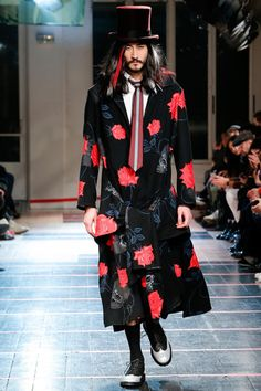 Yohji Yamamoto Fall 2014 Menswear Collection Slideshow on Style.com
