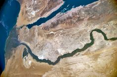 Egypt from #ISS, exp40, June 23, 28-mm