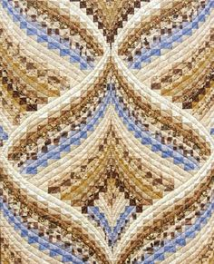 Beautiful bargello that reminds me of a Christmas ornament.
