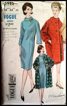 Vogue 5982 Vogue Special Design Misses' One by ThePatternShopp