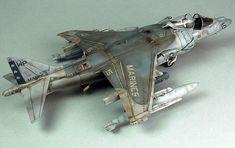 AV-8B Harrier II by Gary Wickham (Hasegawa 1/48)