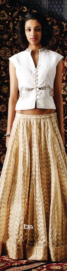 jacket cut with increased length Western Dresses, Indian Dresses, Indian Outfits, Indian Attire, Indian Wear, Indian Designer Outfits, Designer Dresses, Anita Dongre, Lehenga