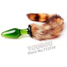 Small Size New Love Faux Fox Tail Butt Anal Plug Sexy Romance Sex Toy Funny Adult Product Juguetes Sexuales PY383