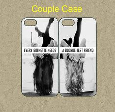 iphone 5s case,iphone 5s cases,iphone 5c case,cool iphone 5c case,cute iphone 5s case,iphone 5 case--brunette blonde best friend,in plastic. by Ministyle360, $28.99