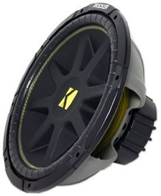 """Kicker Comp Car Subwoofer 15"""" 8-OHM 10C158 by Kicker. $119.95. The Comp is loaded with many of the innovations found in elite KICKER woofers, including the stiffest injection-molded cone with flex-killing, 36-degree back bracing, updated coil-cooling perimeter venting, high-temp voice-coil wire, and Spiralead tinsel-lead technology for ultimate durability. The Comp is also versatile, performing in vented or sealed enclosures, and in free-air applications as well. The Comp mak..."""