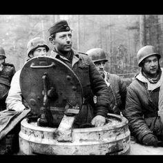 "TIGER TANK COMMANDER OF THE SS-PANZERGRENADIER DIVISION ""DAS REICH"""