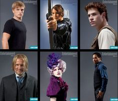 Entertainment Weekly character shots. Of course, I already have Peeta up on my board but you can never have enough Peeta.