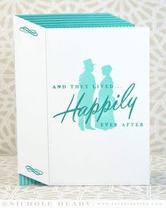 Happily Ever After Card by Nichole Heady for Papertrey Ink (July 2015)