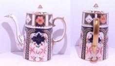 Antique Aynsley Imari coffee set coffee pot milkjug sugar bowl etc 1905 - 1925 | eBay