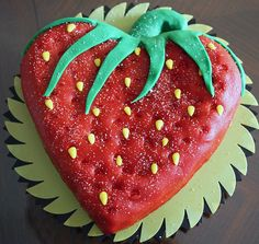 Image result for strawberry shaped cake pan