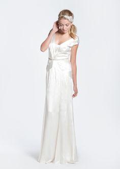 Bibhu Mohapatra 'Deco' Silk Wedding Dress
