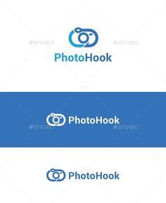 Photo Hook logo template