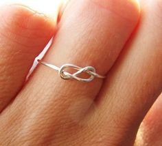 Infinity Ring - Click image to find more Products Pinterest pins
