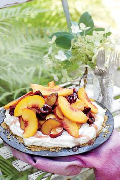 Chilled Summer Pies: Mixed Stone-Fruit Pie