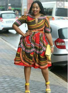 2019 Plus Size Trend: Miko midi dress,African print dress,African clothing,African midi… - 2019 Trends African Fashion Designers, African Inspired Fashion, African Dresses For Women, African Print Dresses, African Print Fashion, Africa Fashion, African Attire, African Wear, African Fashion Dresses