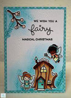 We wish you a fairy magical Christmas - Lawn Fawn #lawnfawn #frostyfairyfriends…