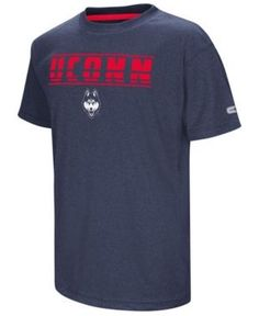Colosseum Connecticut Huskies Head Start T-Shirt, Big Boys (8-20) - Blue L