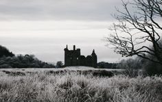 Kilchurn Castle, Scotland (Original photo) I took this picture when I was on a highland day trip. It was such a still winter morning and one of my most treasured memories. Dracula, Lockwood And Co, Captive Prince, Steampunk, Rejoice And Be Glad, Crimson Peak, Scotland Castles, Wuthering Heights, Falling Kingdoms