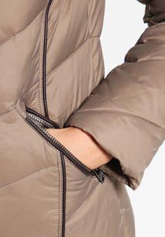 Esprit Collection Gewatteerde jas - taupe - Zalando.nl