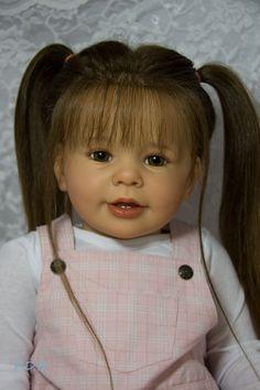 CUSTOM ORDER Reborn Toddler Doll Baby Girl Katie Marie by Ann Timmerman